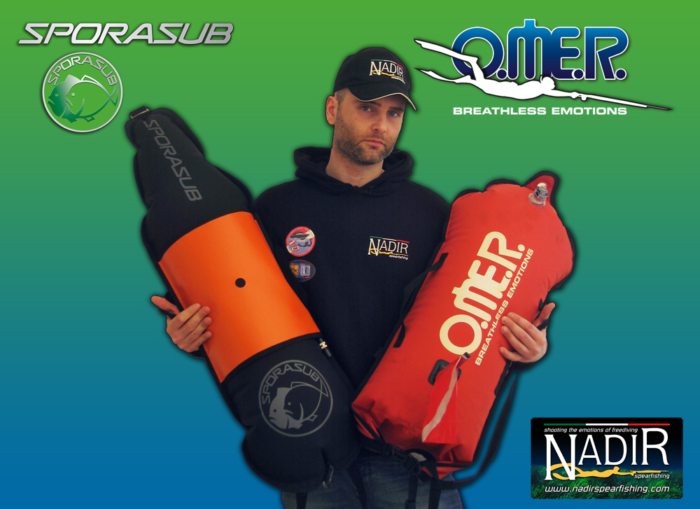 OMER SUB DRY BAG & SPORASUB BLUE WATER FLOATS